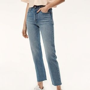 NWT Levi's Wedgie Straight in Rough Tide 26